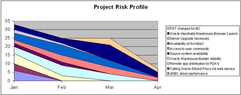 Agile Risk Burndown